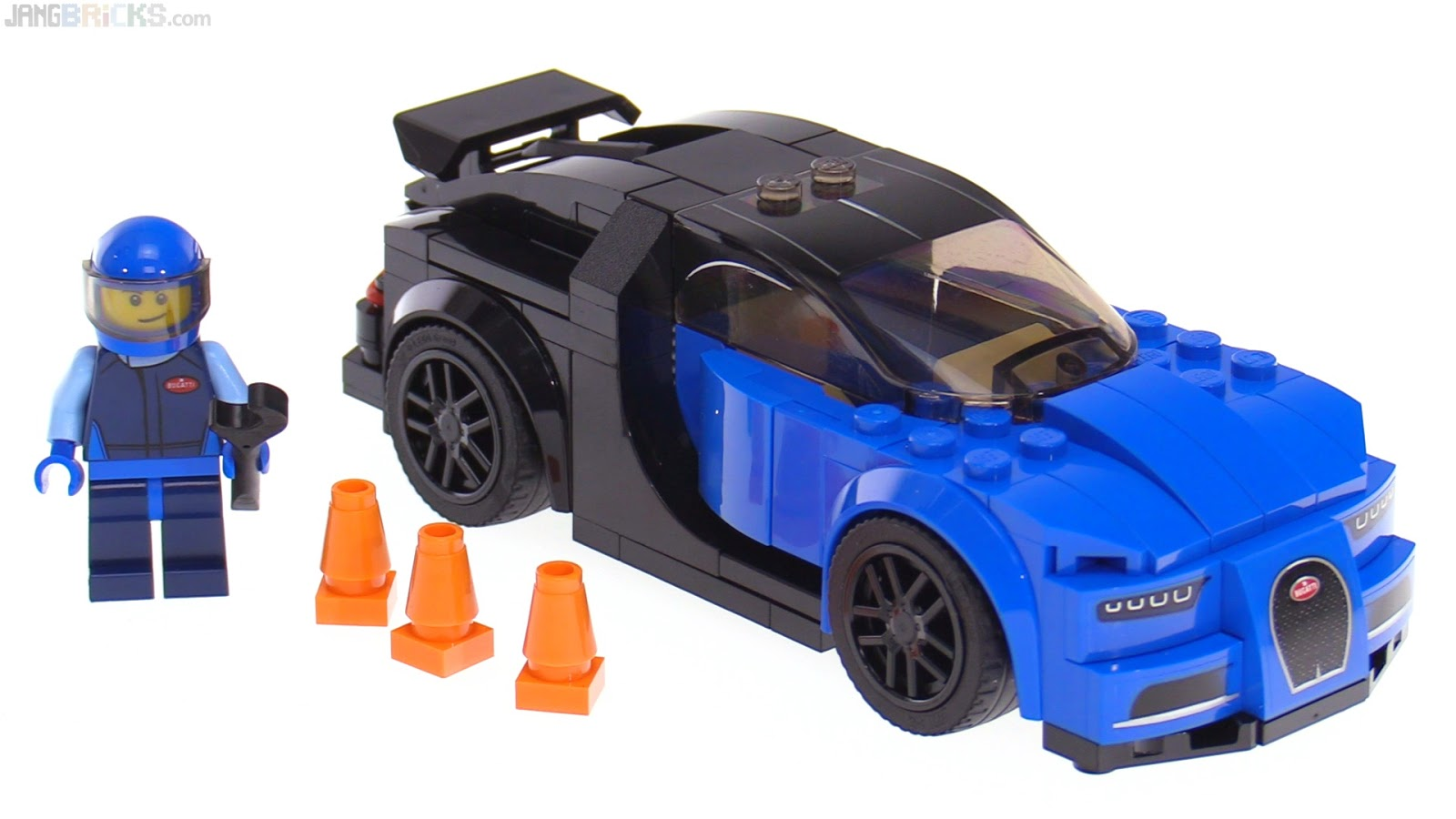 Lego Speed Champions Bugatti Chiron Review 75878