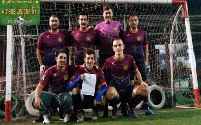 Athens League 6X6: Δευτερή σερί νίκη για Dragoes F.C. και… Golden League!
