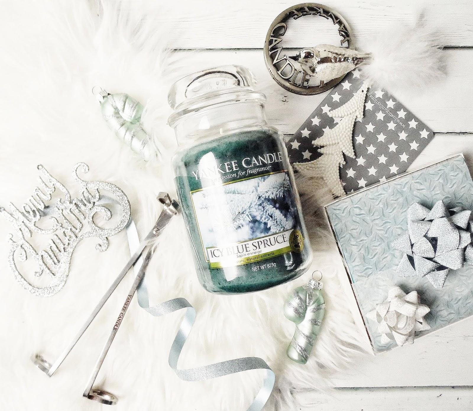 Słodka, zimowa kraina - Icy Blue Spruce Yankee Candle
