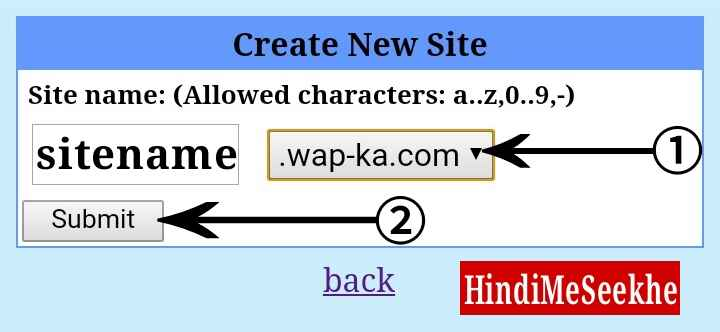 wapka-create-new-site-submit