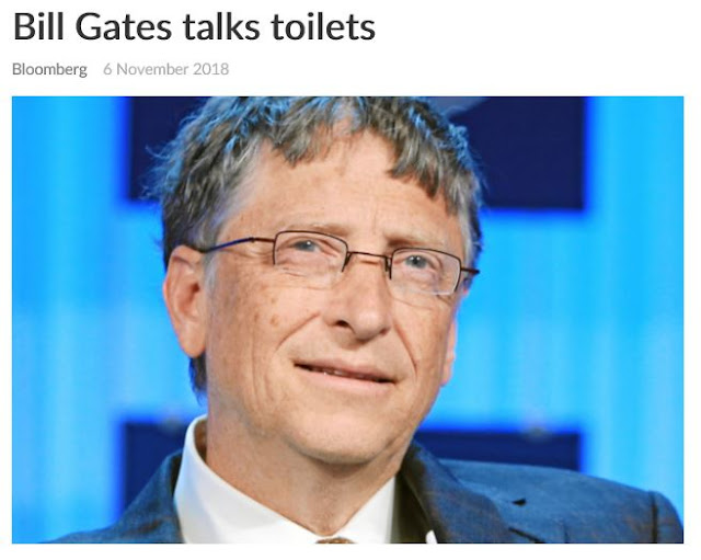 Bill Gates reinvent the toilet