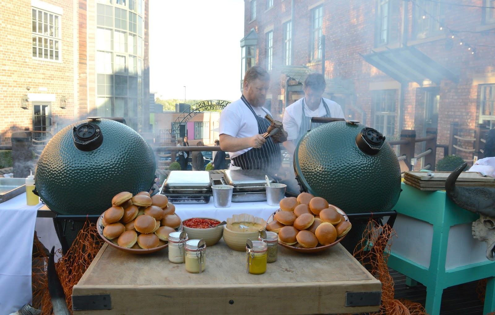 Summer on the Terrace at Hotel Du Vin, Newcastle - BBQ