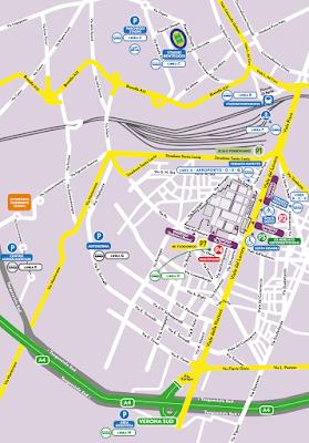 Mappa Parcheggi Vinitaly (tutti)