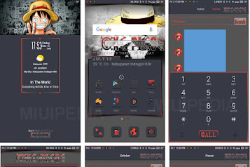 Download Tema Miui One Piece + Cara Pasang berserta Mod Tema Manager