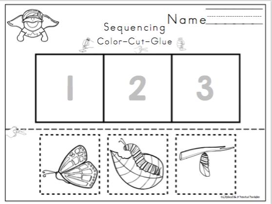 Sequencing Bundle ~ Preschool Printables