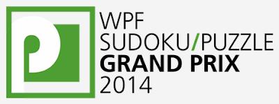 Sudoku Grand Prix 2014 Round 1