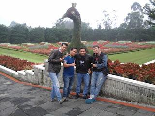 Taman Bunga Cipanas Jabar Indonesia