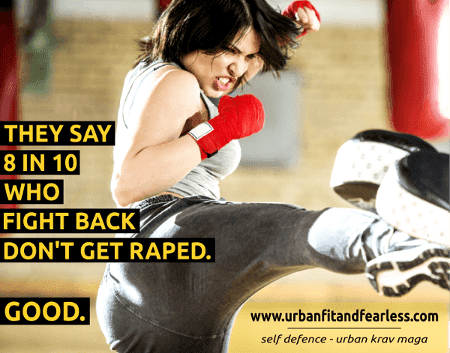 8 in 10 who fight back don't get raped in the end