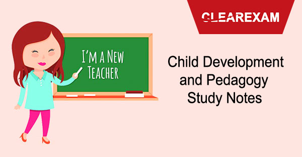 Child Development and Pedagogy Study Notes for CTET and DSSSB Exams