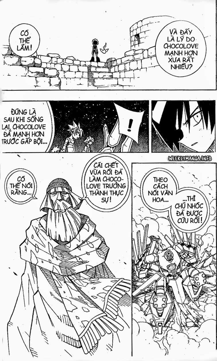 Shaman King [Vua pháp thuật] chap 203 trang 18