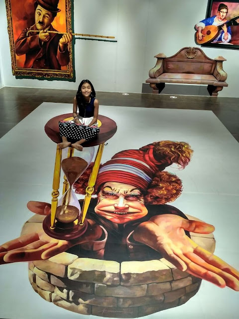 3 Dimensional painting on floor