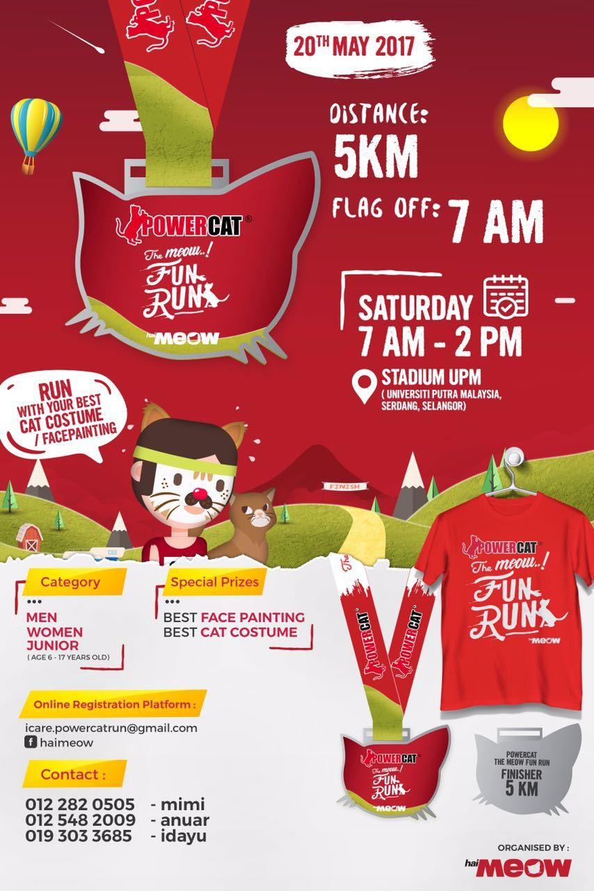 Powercat The Meow Fun Run 2017