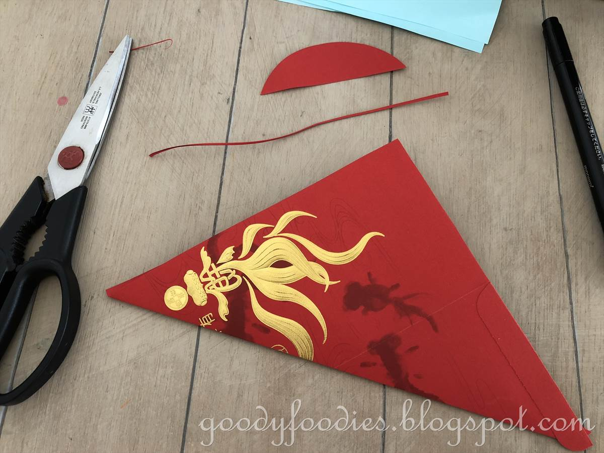 GoodyFoodies: How to Make an Origami Dog for Chinese New Year - photo#48