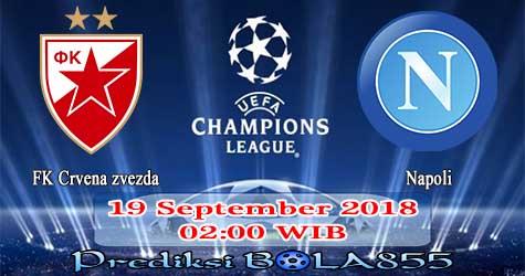 Prediksi Bola855 FK Crvena zvezda vs Napoli 19 September 2018