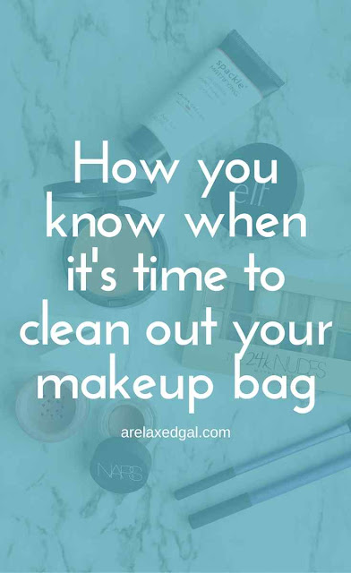 How to know when you need to toss out your old makeup | arelaxedgal.com