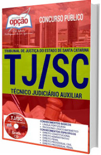 Apostila Concurso TJ-SC 2017 Técnico Judiciário Auxiliar