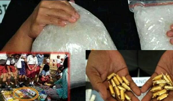 TOLONG SHARE BAHAYA Permen Narkoba Beredar Dalam Bentuk Jajanan Agar Anak Kecanduan