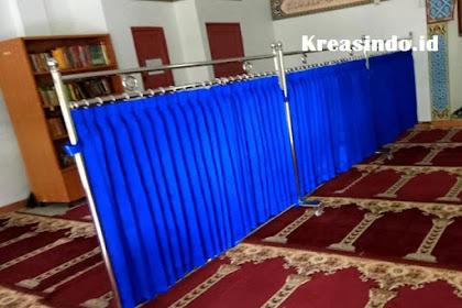 Kumpulan Warna Kain Hijab Masjid Stainless