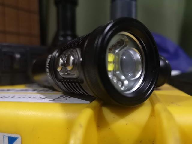 Bluraw underwater torch review