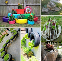 Creative Garden Container Ideas - Diy Craft Projects
