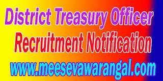 District Treasury Officer
