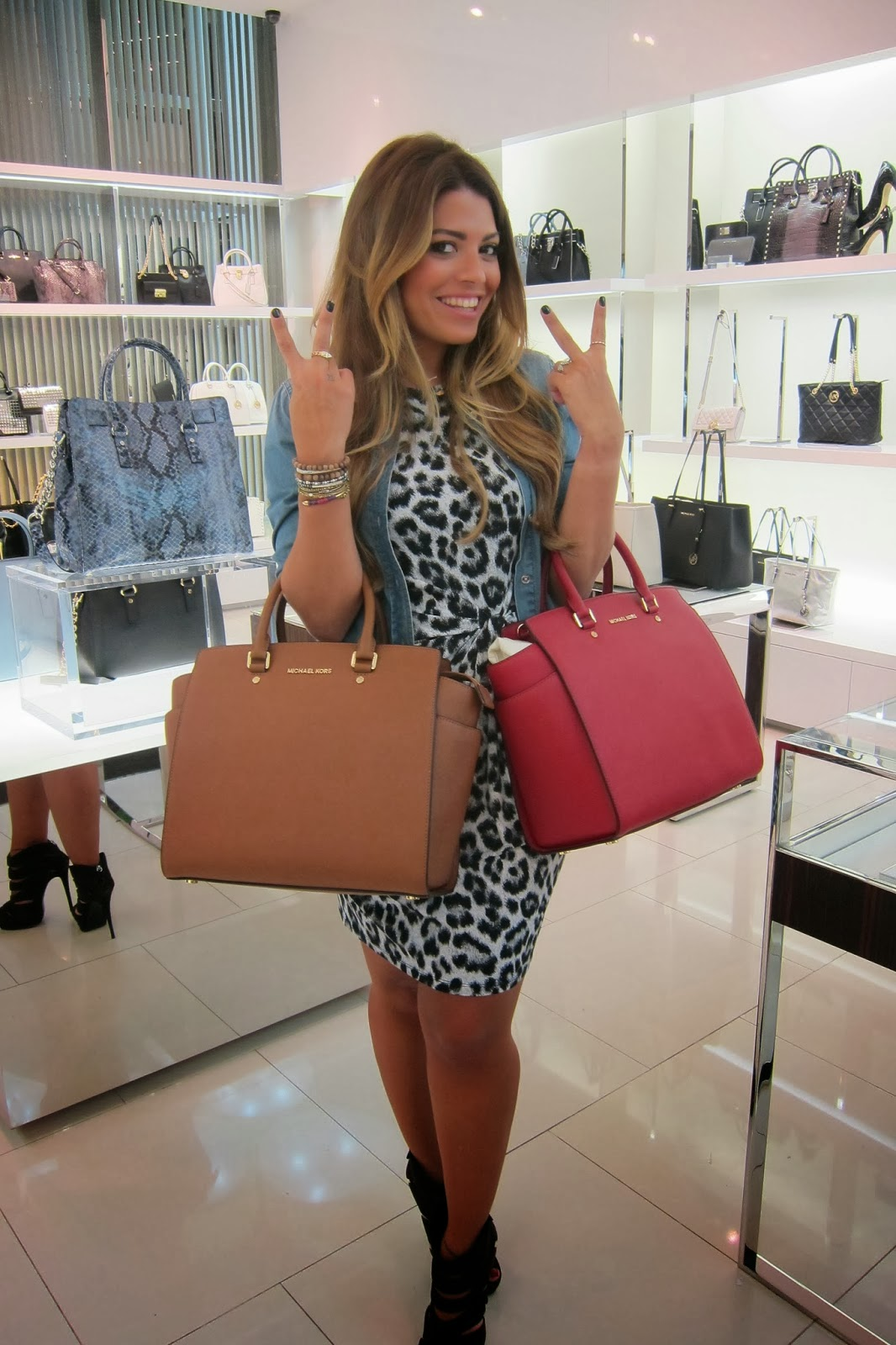 Project Runway Arabia >> Fashion Gossip: Lady Fozaza unveils the new Michael Kors line to a crowd of shoppers in Bahrain ...