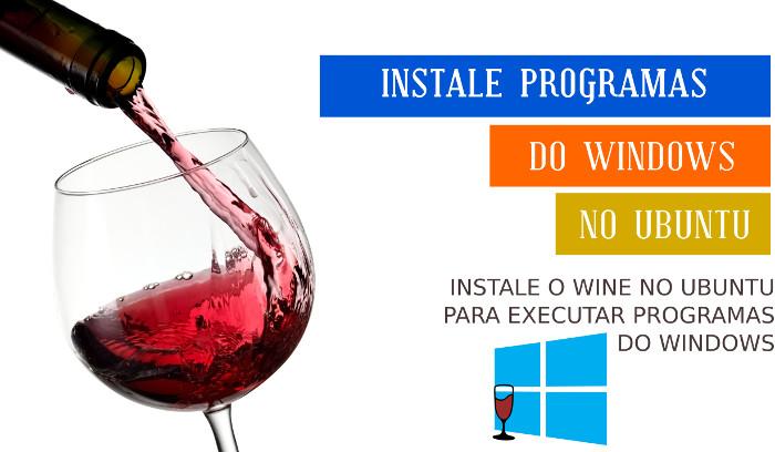 instalar wine no ubuntu linux linha de comando
