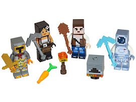 Minecraft Skin Pack 2 Lego Set