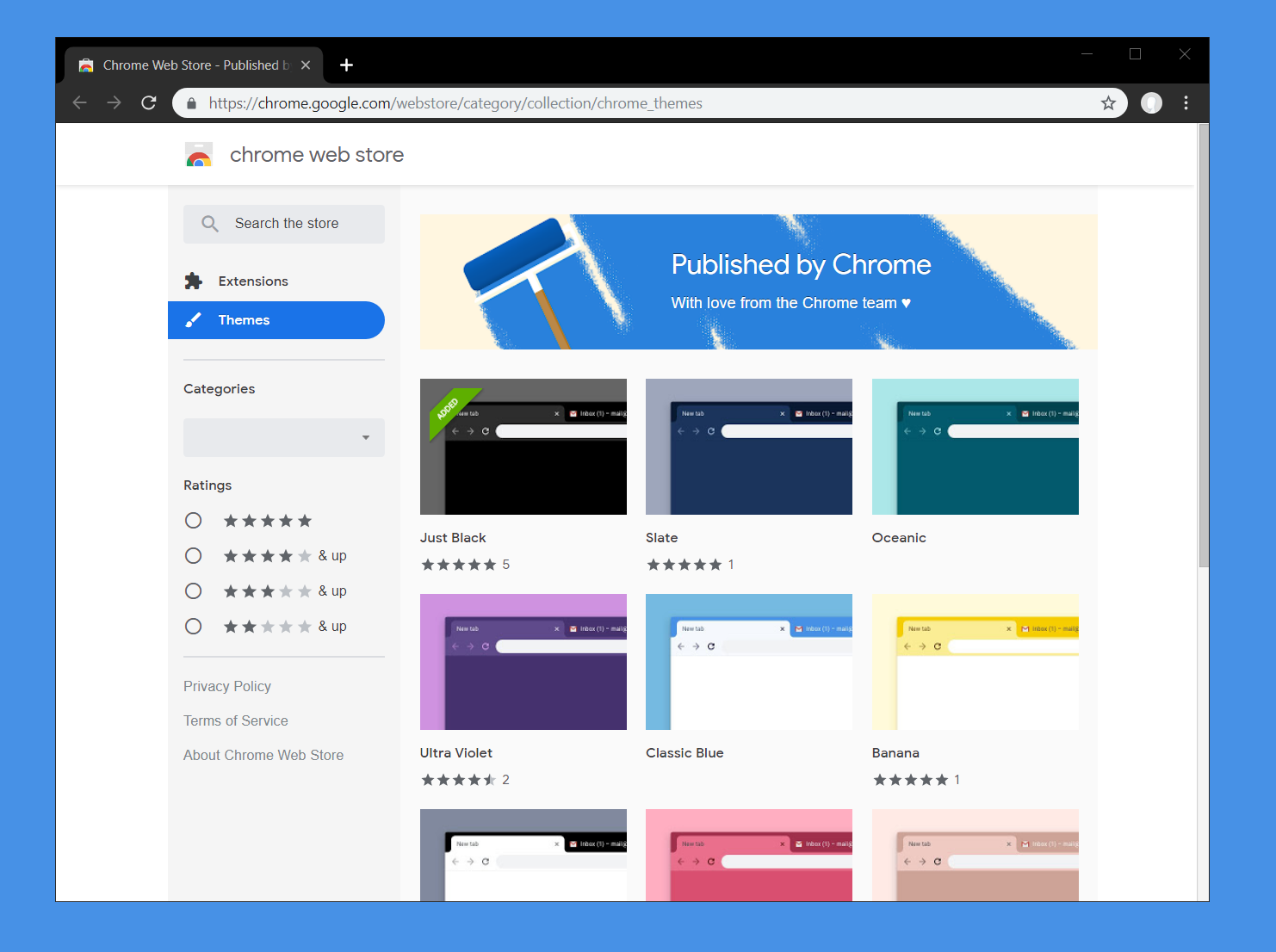 Google brings out new free themes for Chrome browsers / Digital