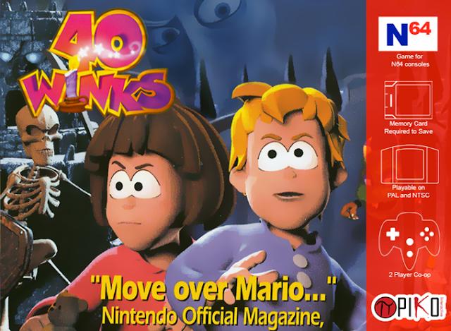 El cancelado 40 Winks finalmente llegará a Nintendo 64