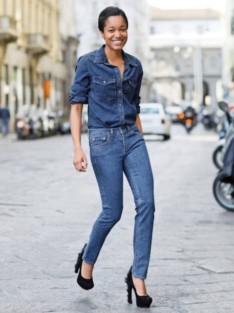 blog achados de moda, carmen martins consultora de estilo, como usar jeans com jeans
