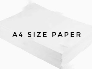 Import of A4 size paper