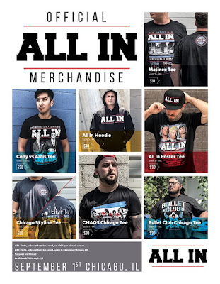 ALL IN Official Limited Edition T-Shirt Collection