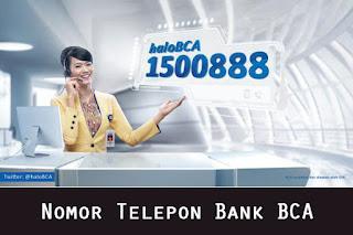 Nomor Telepon Bank BCA