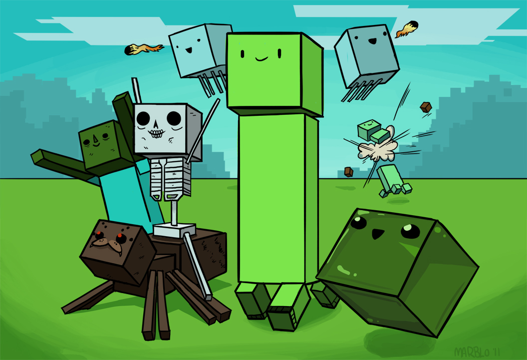 ... Blog of Still and Moving Imagery: Decobots, Dogs and Minecraft