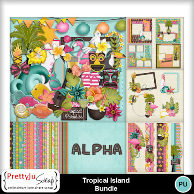 Tropical Island kit et collection-40% + freebie