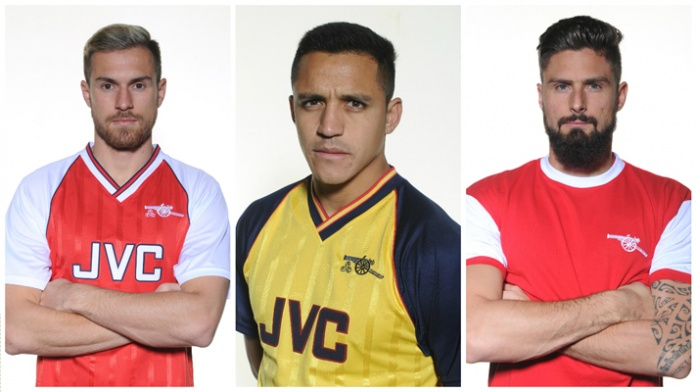 100% authentic 6c414 5bf65 Arsenal Retro Jersey Collection Unveiled - Footy Headlines