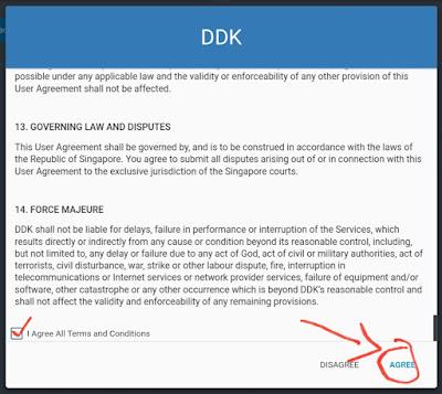 Cara Daftar Member Baru DDKoin