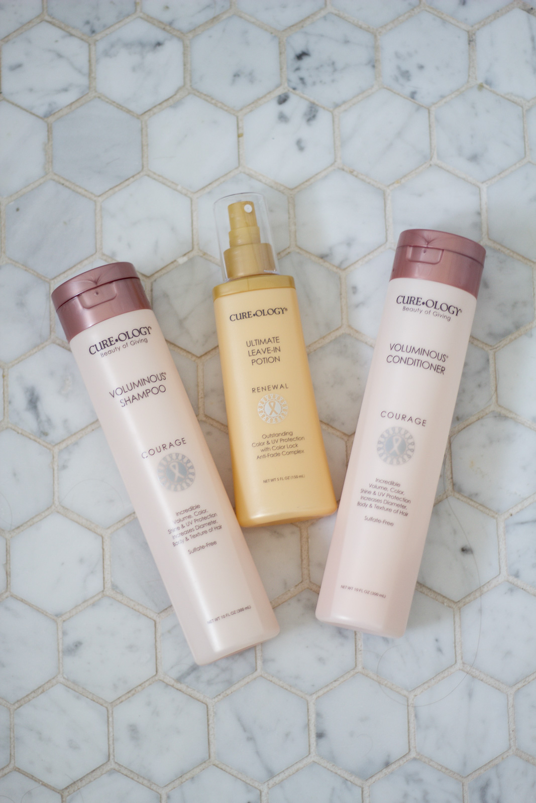 cureology voluminous shampoo and conditioner