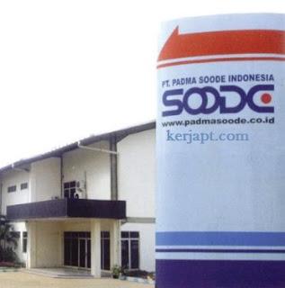 PT. Padma Soode Precision - Operator Produksi