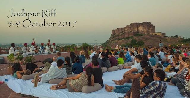 राजस्थान अंतर्राष्ट्रीय लोक उत्सव Jodhpur Riff 5-9 October 2017