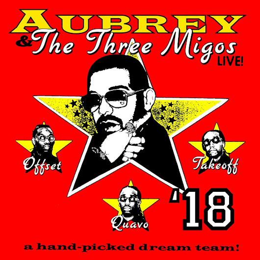 "Drake ""The Three Amigos Tour' Dates Feat. Migos"