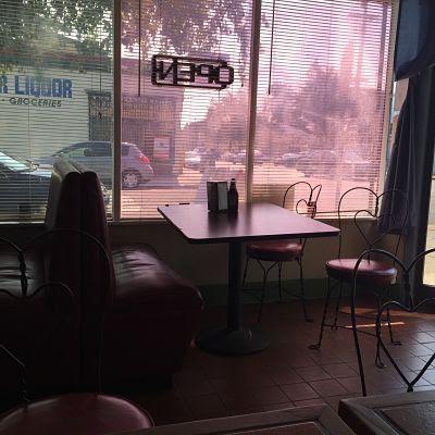 Cafetería mexicana en Oakland