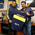 Paolo Goltz fue presentado como refuerzo de Boca