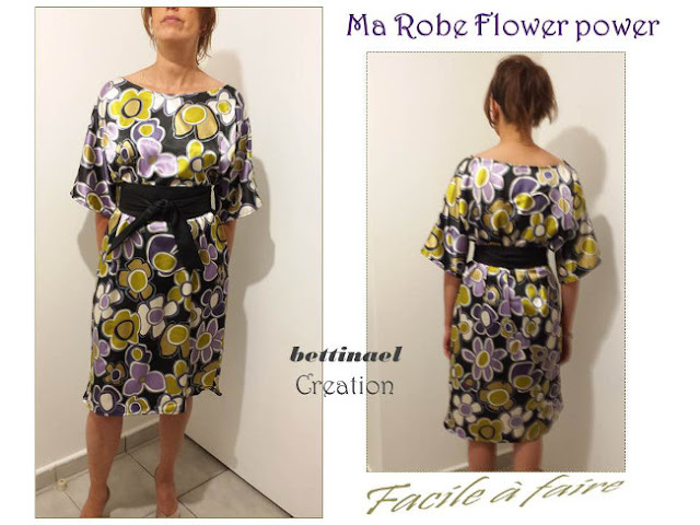 Happy diy ma robe flower power chic et facile faire for Irresistible a coudre 4 8 ans