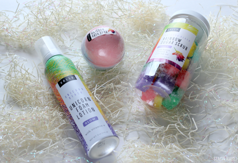 unicorn bath and body products