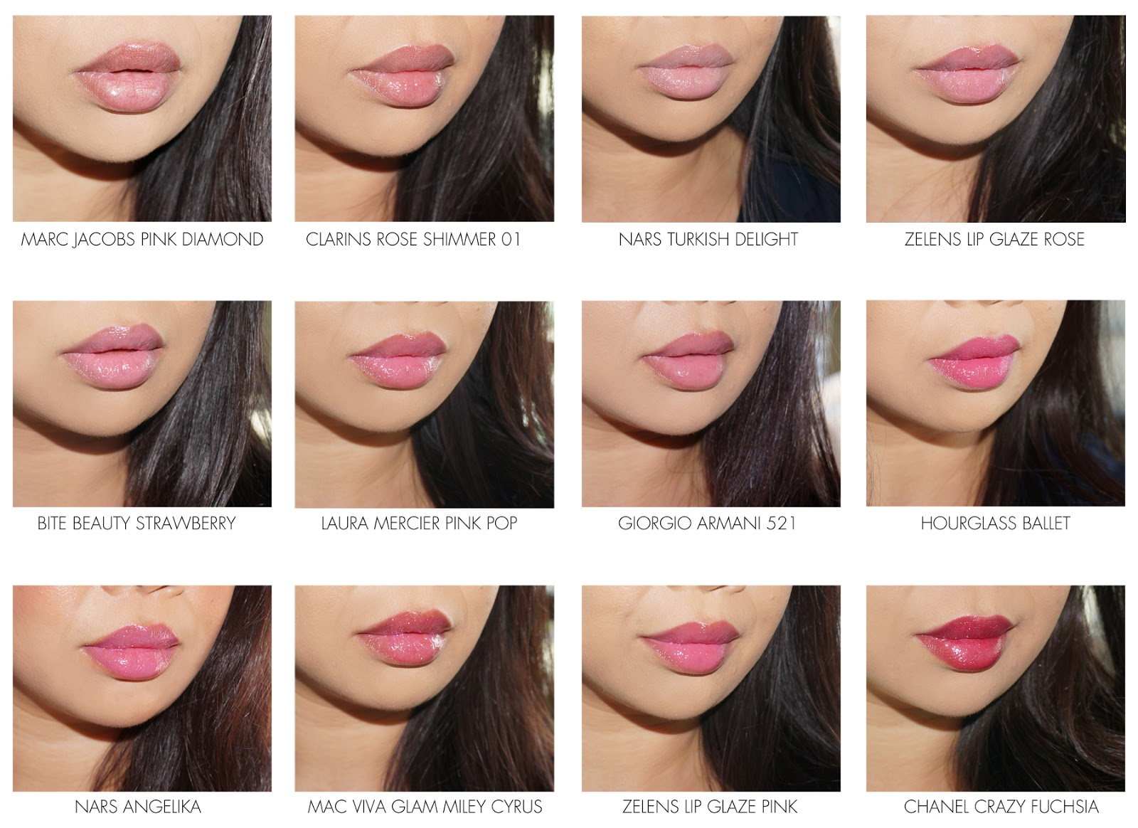Valentine S Day Pink For Lips The Beauty Look Book