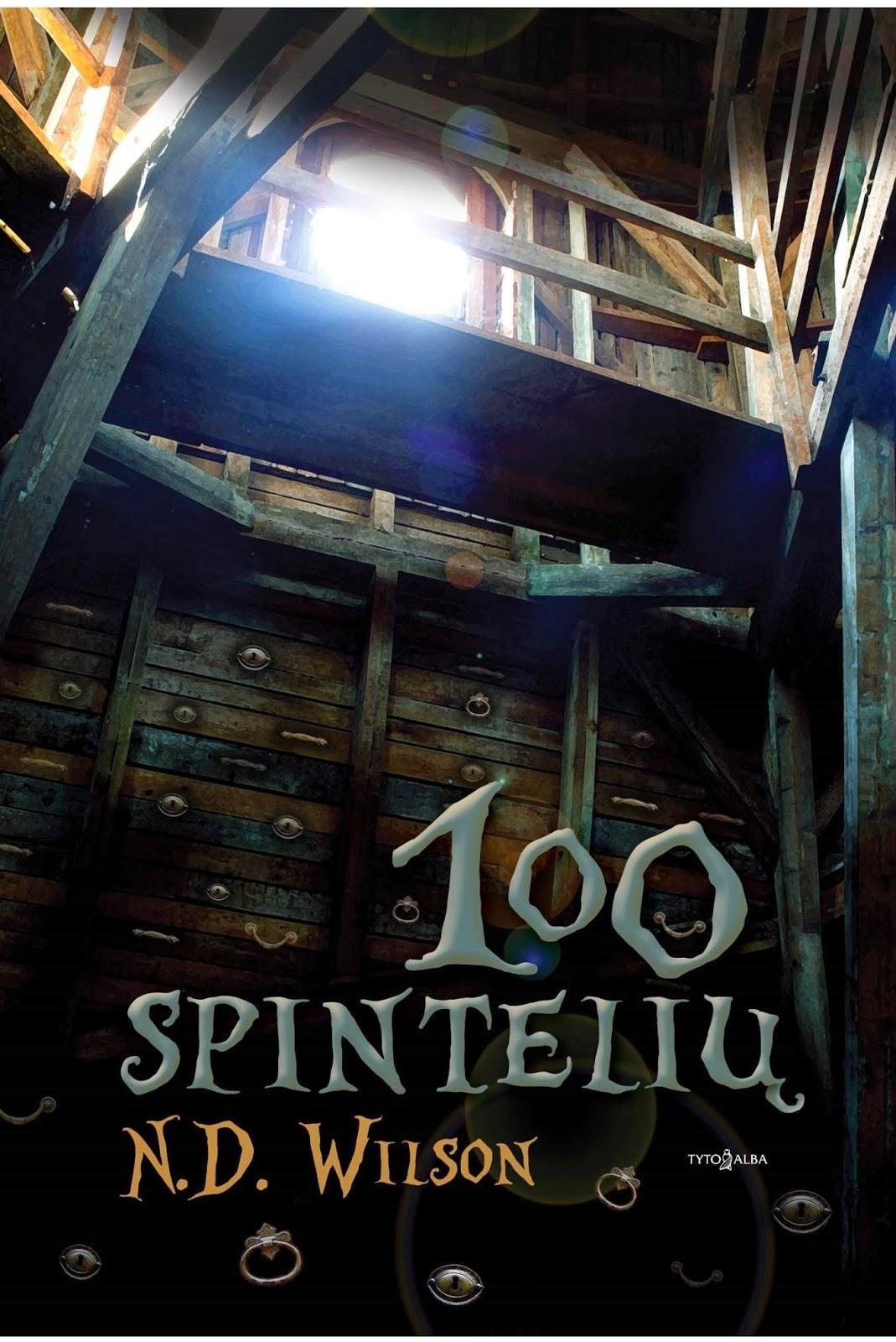http://skaitymovalandos.blogspot.com/2014/11/n-d-wilson-100-spinteliu.html