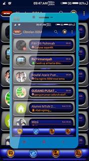 BBM MetalicAngel v2.12.0.11 Apk