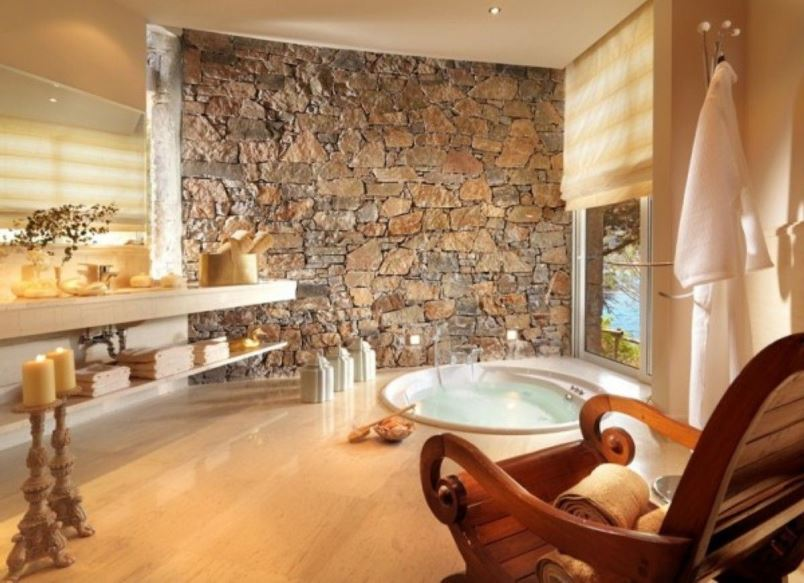 This Spa Style Inspired Master Bathroom Interior Design and ...